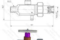 Чертёж Разделителя сред РС-21-05 - 2Д + 3Д
