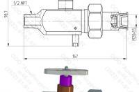 Чертёж Разделителя сред РС-21-13 - 2Д + 3Д